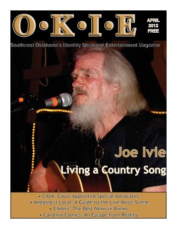 Southwest Oklahoma's Monthly News and - OKIE Magazine