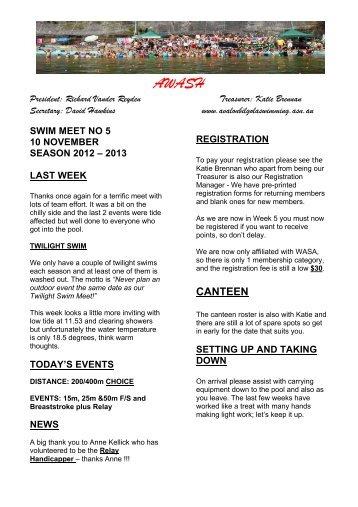 AWash-5 - Avalon Bilgola Amateur Swimming Club