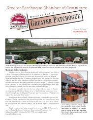 July/Aug - Patchogue.com
