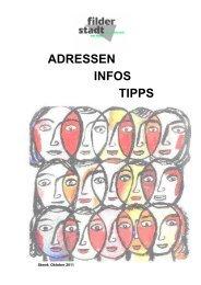 ADRESSEN INFOS TIPPS - Stadt Filderstadt
