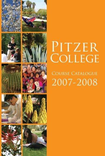 2007-08 - Pitzer College