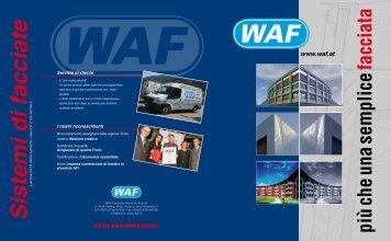 più che una semplice facciata - WAF Fassadenelemente GmbH