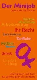 Der Minijob - Stadt Filderstadt