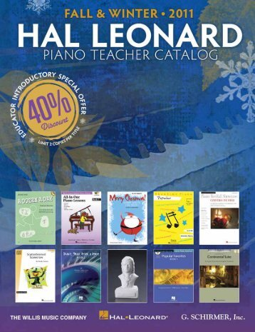 exclusive free offer! - Hal Leonard