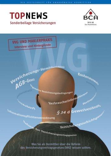 VVG UND MAKLERPRAXIS - Deutsche Makler Akademie DMA