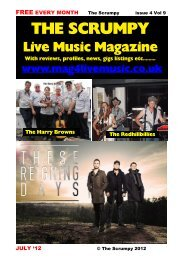 July 2012 - Mag 4 Live Music