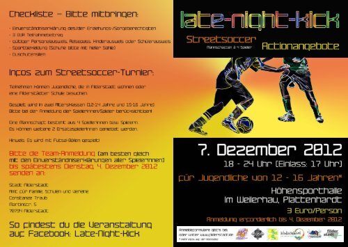 Flyer Late-Night-Kick fertig - Stadt Filderstadt
