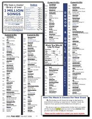 music list xlsx - Nova DJs