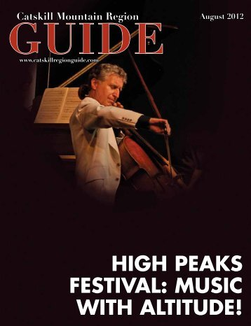 high peaks festival: music with altitude! - Catskill Mountain Foundation