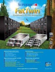 Evolutionary 4U Twin Architecture - Supermicro