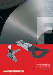 • External locking gears Ø22 • Chiusure esterne Ø22 • Crémones en ...