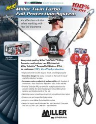 Miller Twin Turbo Brochure - Honeywell Safety Products