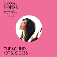 Here - Leeds College of Music
