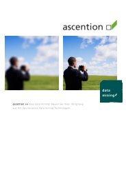 data mining - ascention