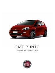 FIAT PUNTO - Motorhuis