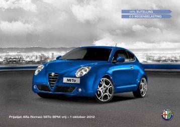 Prijslijst MiTo - Alfa Romeo Download