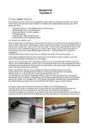 TwinStar Baubericht - Prop