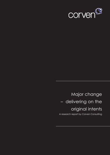 Major change - Management and Business Studies Portal