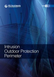Intrusion Outdoor Protection Perimeter - UTCFS Global Security ...