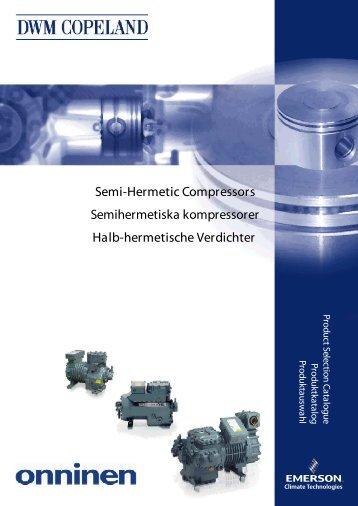 Semi-Hermetic Compressors Halb-hermetische ... - Onninen