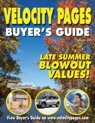 Velocity Buyers Guide Fall/06 FINAL TO PRINT - Velocity Pages ...
