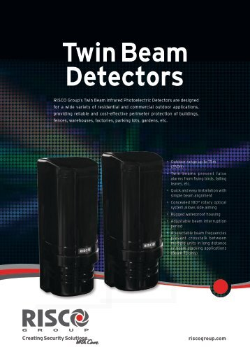 Twin Beam Detectors - RISCO Group