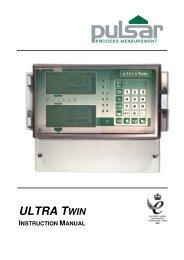 Ultra Twin Third Edition Rev 1 - Pulsar Process Measurement