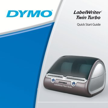 Quick Start Guide - Dymo