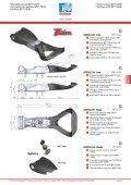 • External locking gears Ø27 • Chiusure esterne Ø27 • Crémones en ... - Page 7