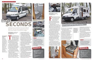 test : second-hand motorhomes - The Caravan Club