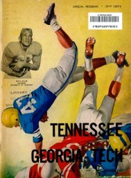 OFFICIAL PROGRAM - of College Football Games
