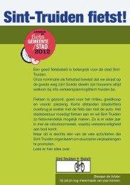 Fietsbrochure Sint-Truiden - Mobiel 21