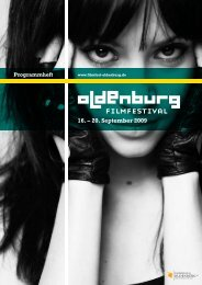16. – 20. September 2009 - Filmfest Oldenburg