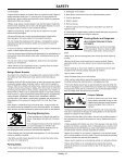 OPERATOR'S MANUAL - Home Depot - Page 7