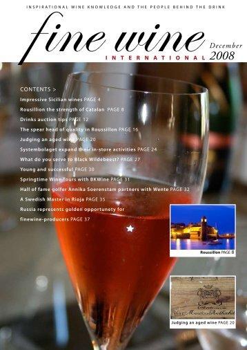 December - Fine wine magazine