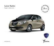 Prijslijst - Lancia