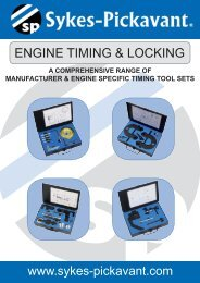 Engine Timing - alphabetical.indd - Sykes-Pickavant