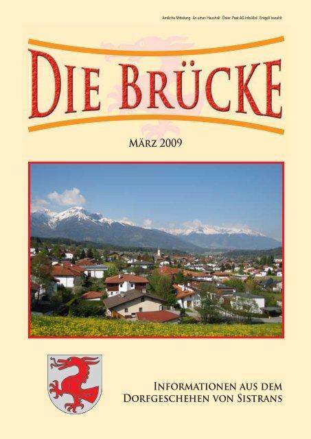 Singles Sistrans, Kontaktanzeigen aus Sistrans bei Tirol bei