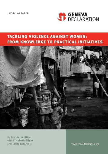 Tackling Violence against Women: From Knowledge to Practical