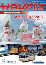 Winterkatalog 2012/2013 - Claus Haupts GmbH