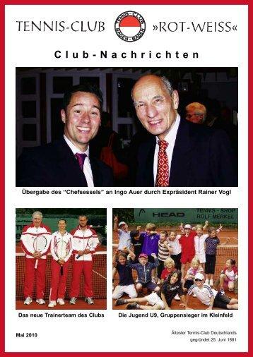 Club-Nachrichten - Tennisclub Rot-Weiss Baden-Baden eV
