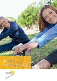 fit4life- Aktivtage 2012 - gesundheit und reisen