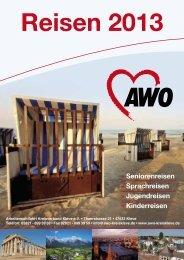 Reisen 2013 - AWO Kreisverband Kleve