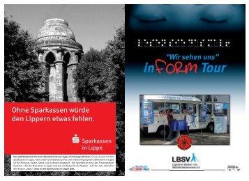 Broschüre zur In-Form-Tour (pdf, ca. 3 - Lippischer Blinden- und ...