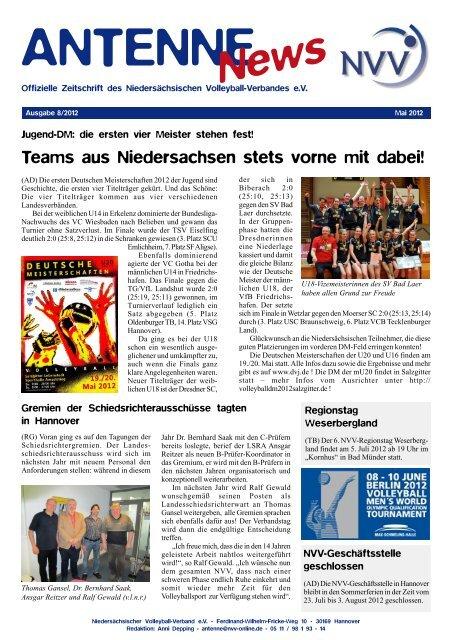 Ausgabe 08/2012 - NVV