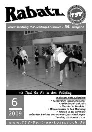 (Nr. 35) (im PDF-Format) - TSV Bentrup-Lossbruch