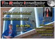 The Mystery Investigator - Mystery Investigators