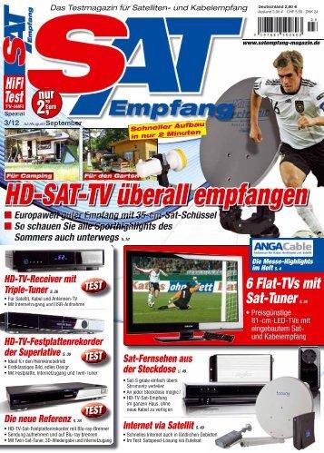 HD-SAT-TV überall empfangen