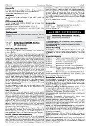 KW 21 - Vereinsring Kleinostheim