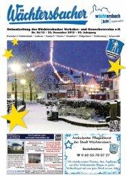 Wächtersbacher Heimatzeitung Nr. 26/12 - Verkehrs- und ...